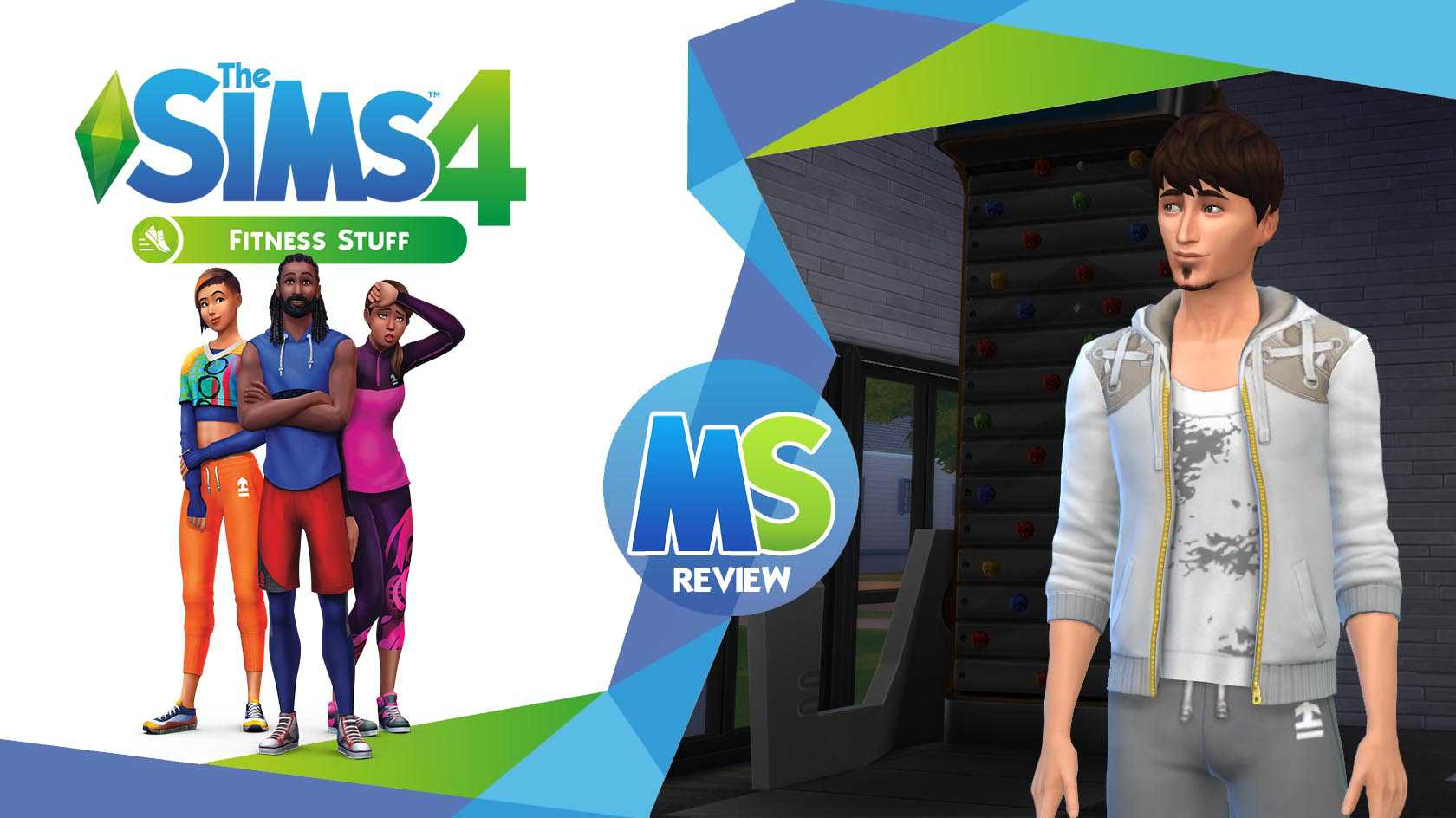 The Sims 4 Fitness Stuff Pack