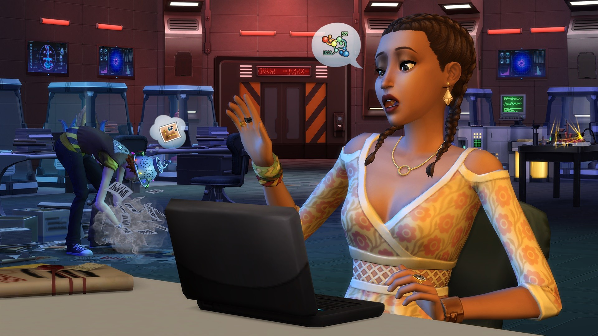 The Sims 4 StrangerVille Console