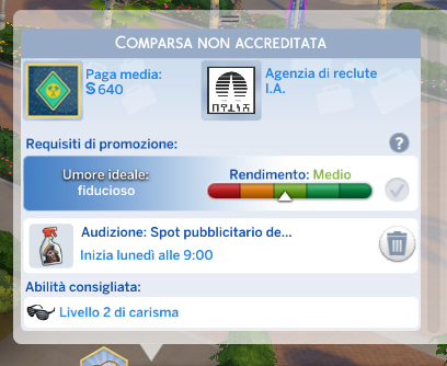 The Sims 4 Nuove Stelle Carriera Attore