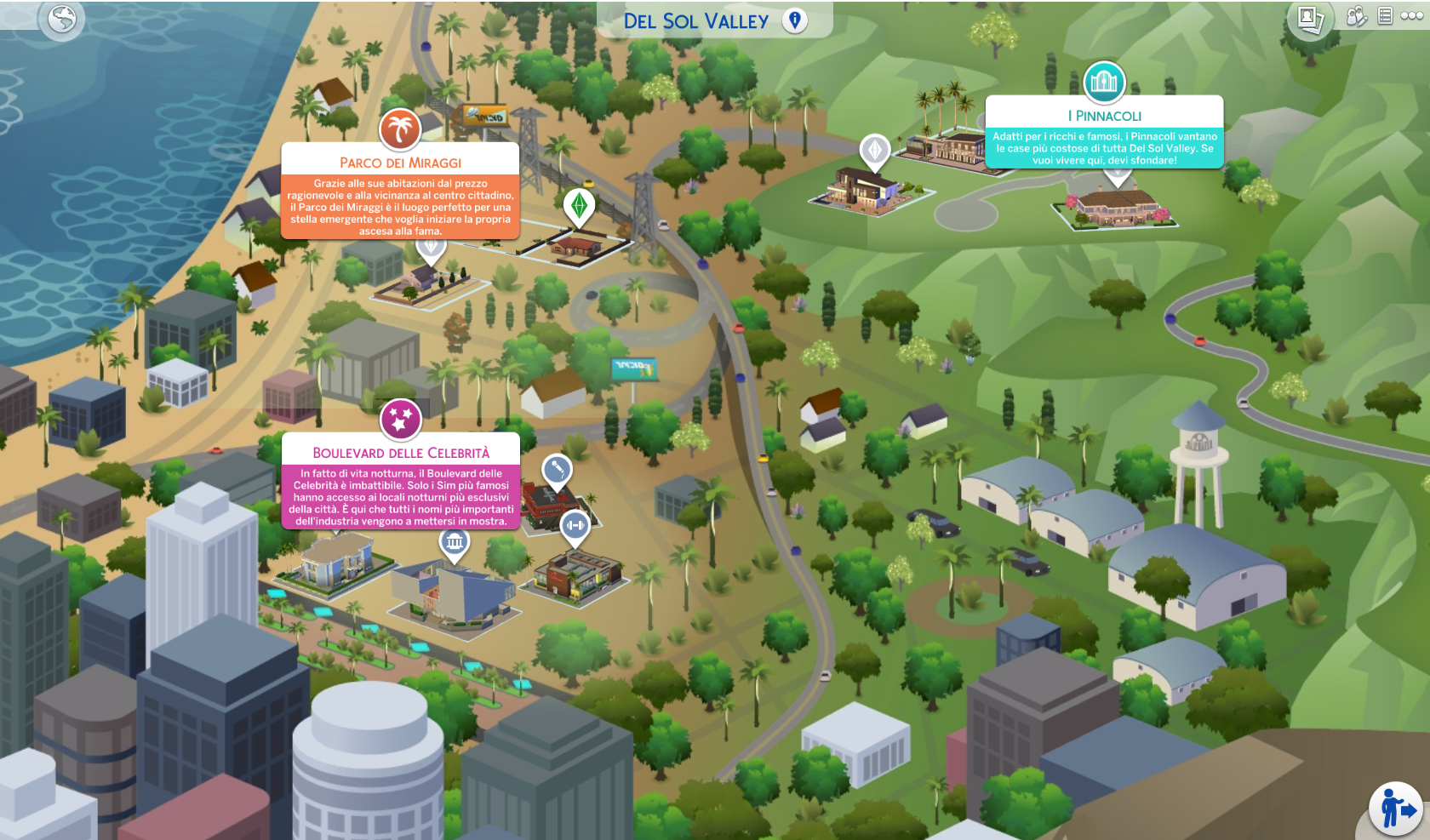 The Sims 4 Nuove Stelle Del Sol Valley Map
