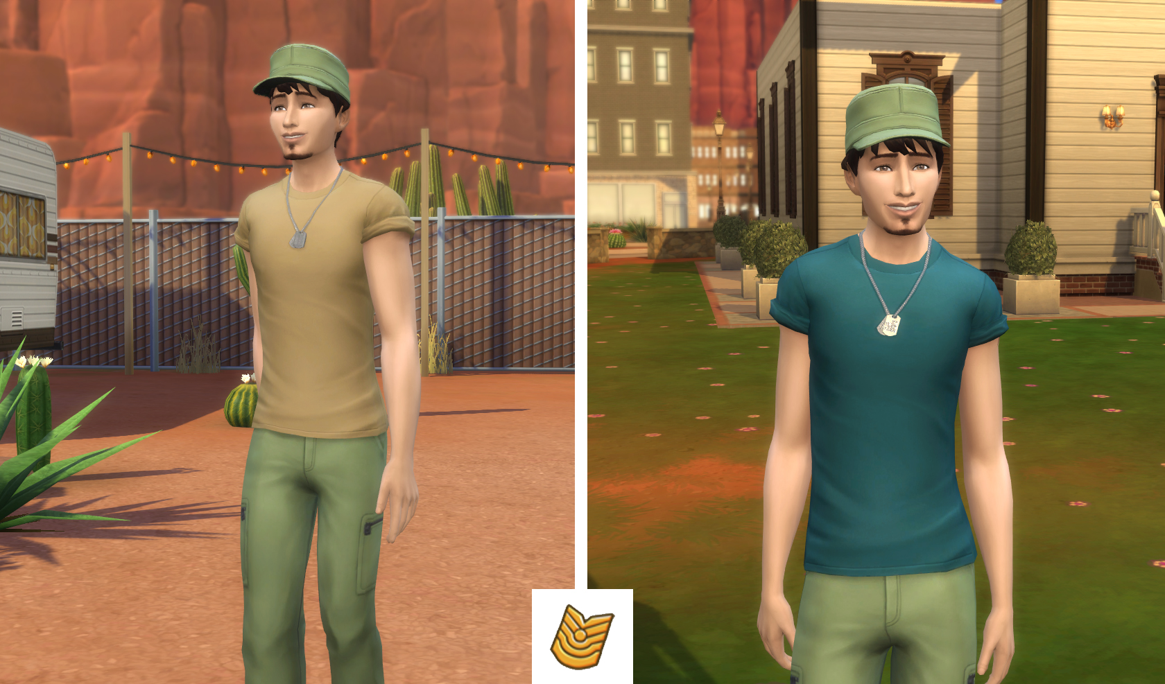 The Sims 4 StrangerVille Carriera Esercito