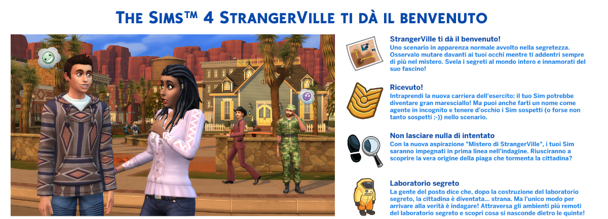 the sims 4 Nuove StrangerVille Review benvenuto