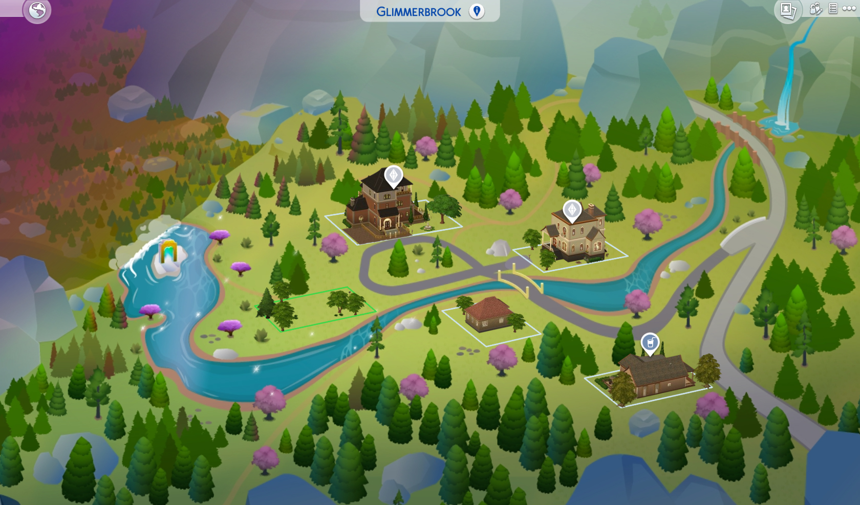 The Sims 4 Glimmerbrook